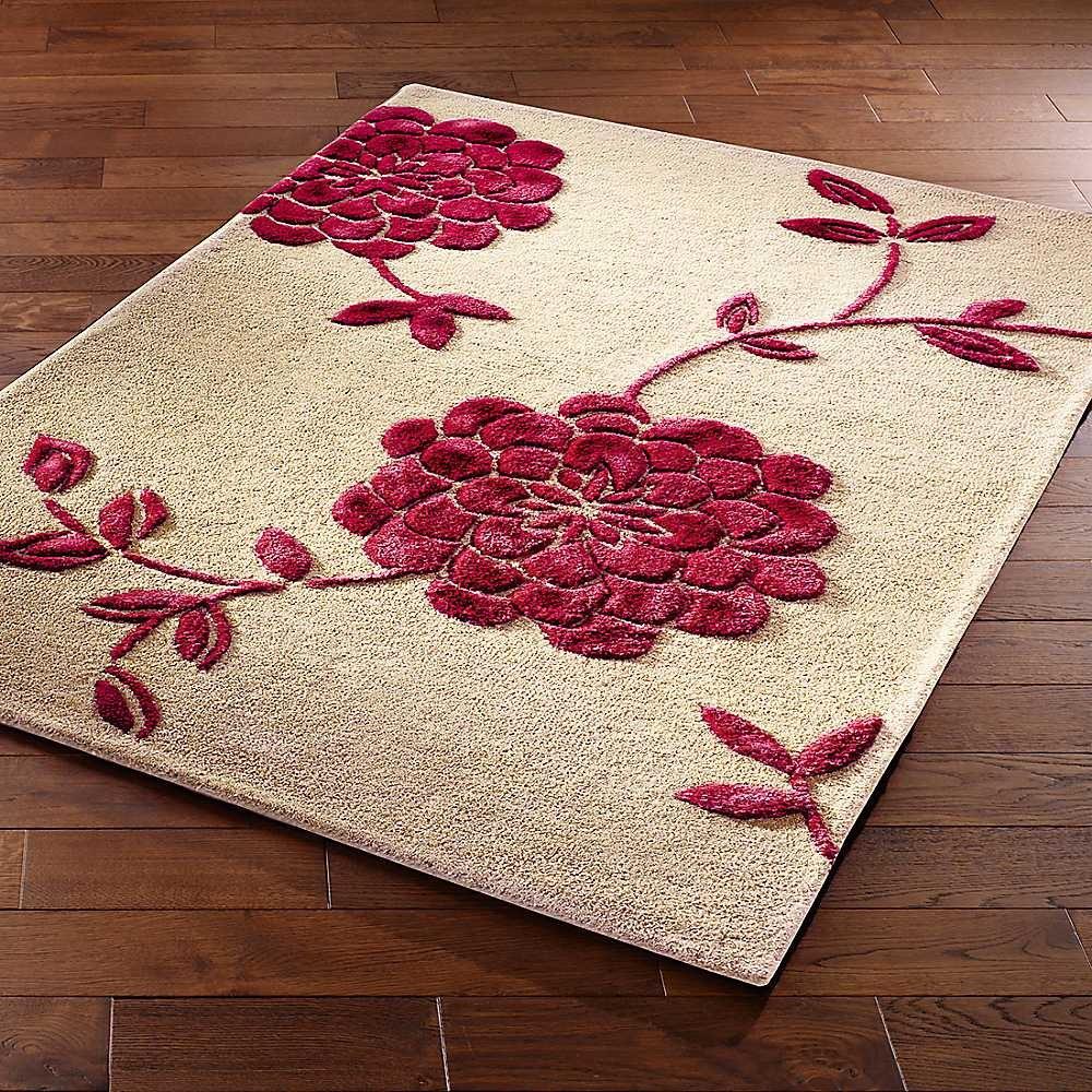 Chrysanthemum-Rug~78H605FRSP